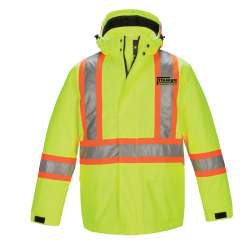 Men's Hi Vis Insulated Parka