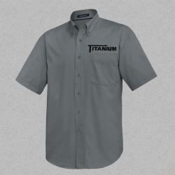 Men's Short Sleeve Woven Shirt