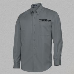 Men's Long Sleeve Woven Shirt
