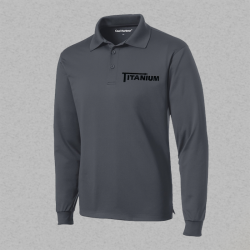 Men's Long Sleeve Polo